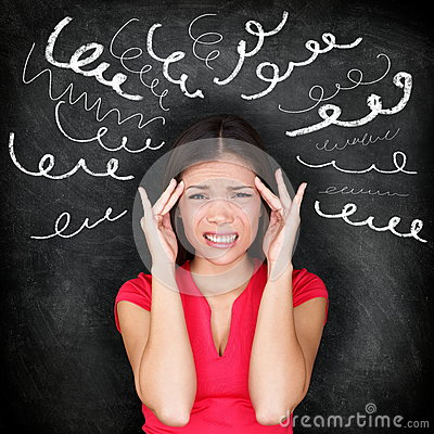 Free Stress - Woman Stressed With Headache Royalty Free Stock Image - 32632366