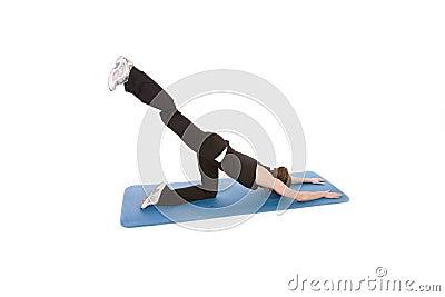 Stretch leg up