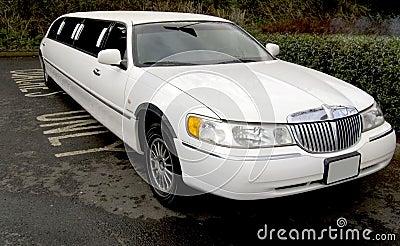 Stretch limo limousine big car