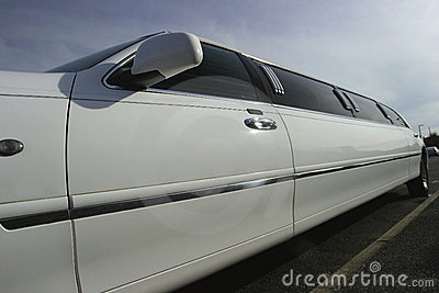 Stretch Limousine Wedding Car