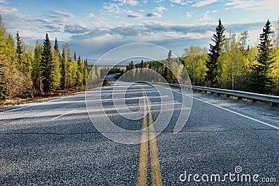 Stretch of rural road