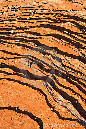 Striated Rock Background