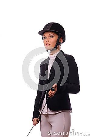 Strict jockey with thin switch