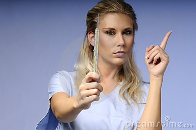 Strict medical nurse