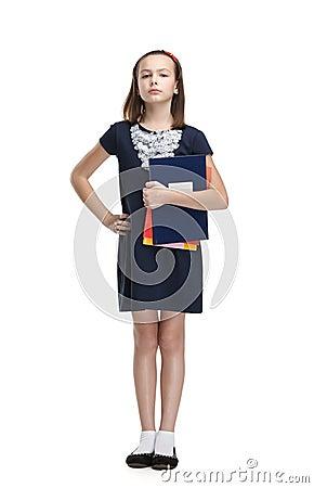 Strict schoolgirl