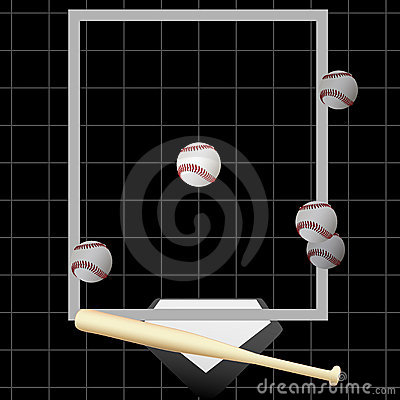 Strike Baseball Pitching Balls Bat Home