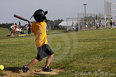 Strike at home plate