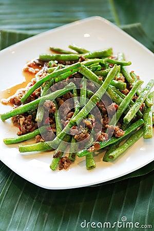 String beans cuisine
