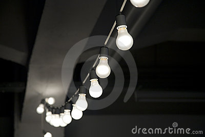 String of lightbulbs