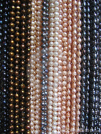 String of Pearl Necklaces