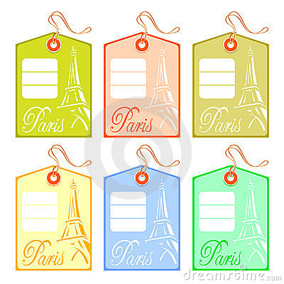 String tag for Paris