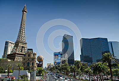 The strip of Las Vegas Editorial Image