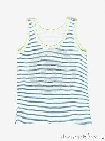 Stripe kid`s vest