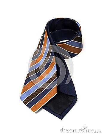 Stripe Nave Necktie