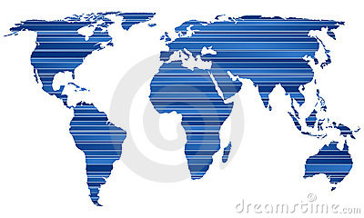 Stripe world map