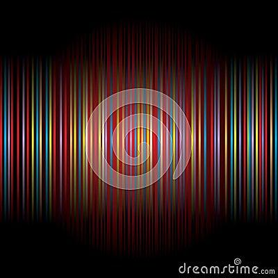 Striped blur
