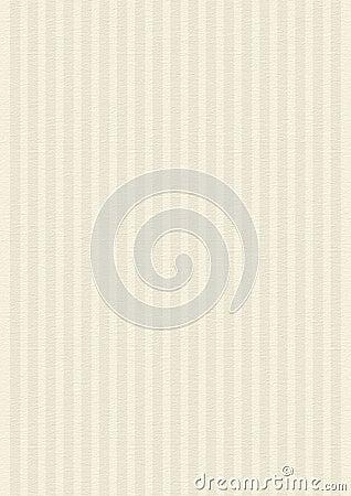 Striped Cream, Beige Paper Texture Background