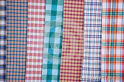 Striped loincloth.