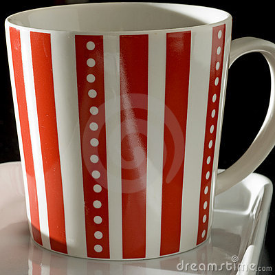 Striped mug square