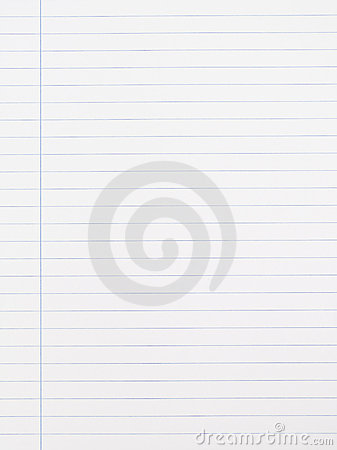 Striped Notebook Paper texture