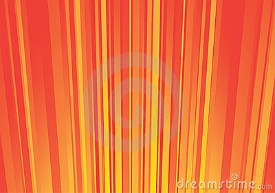 Striped orange background