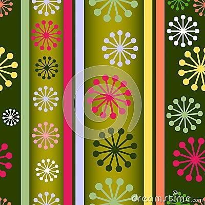Striped retro seamless  background (vector)