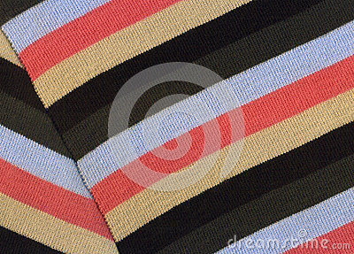Striped scarf background