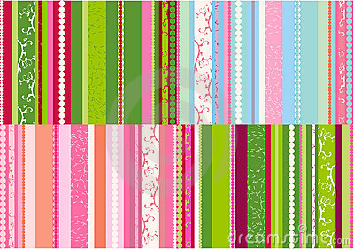 Stripes designs vector