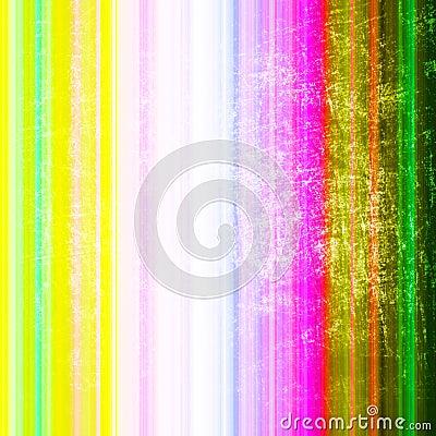 Stripes on grunge