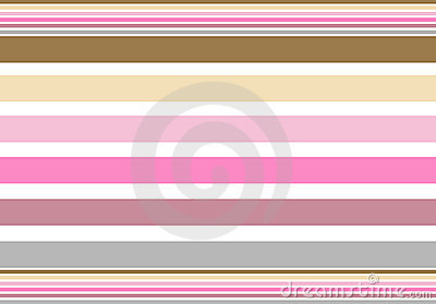 Stripes pink brown