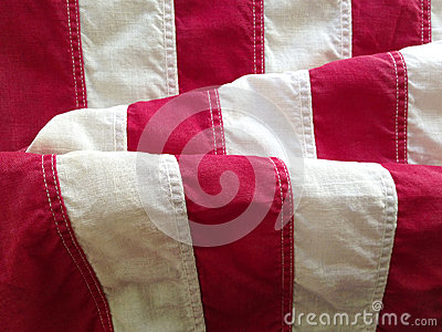 Stripes of USA flag