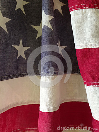 Stripes of USA flag