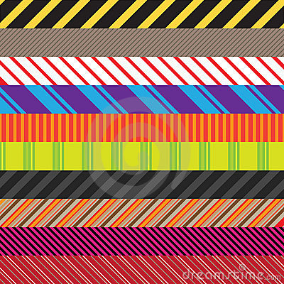 Free Stripes Variety Pack Stock Images - 11123944