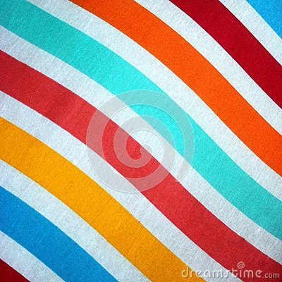 Stripey Material or fabric