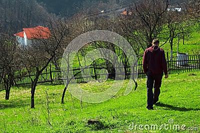 Strolling in Baia Mare, Romania
