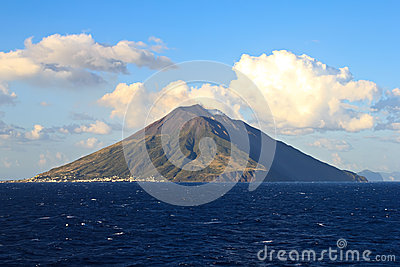 Stromboli Island Sicily