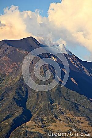 Stromboli volcano, Sicily