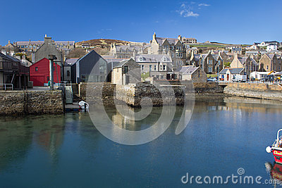 Stromness Harbour, Orkney Editorial Image