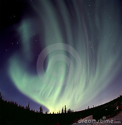 Free Strong Aurora Stock Photography - 400392