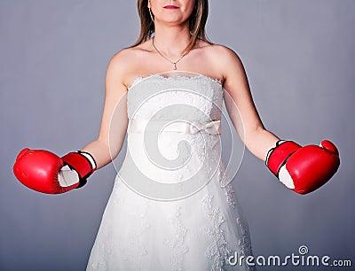Strong bride