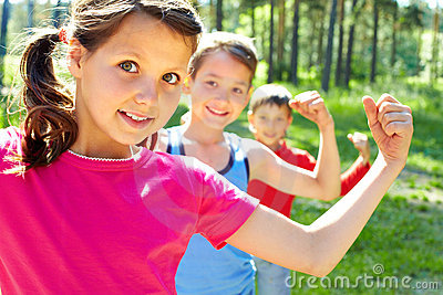 Strong children