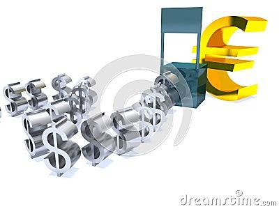 Strong Euro Weak Dollar