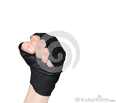 Strong, Men s hand in glove