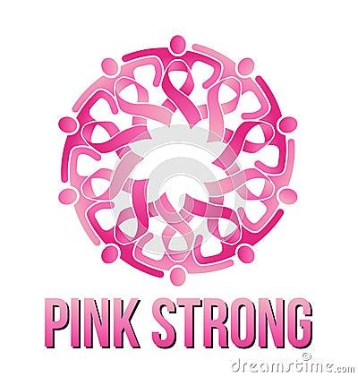 Strong Pink People Logo