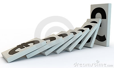 Strong Pound domino