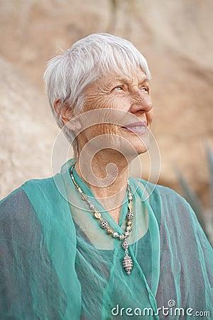 Strong Senior Woman