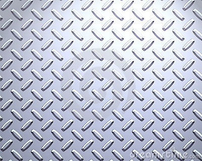 strong Steel diamond plate