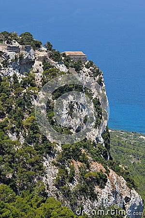 Stronghold Monolithos,island Rhodes,Greece