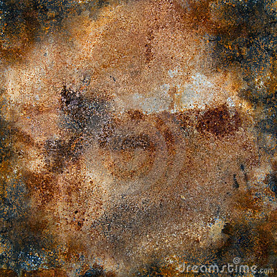 Free Strongly Rusty Metal Plate Stock Images - 22530954