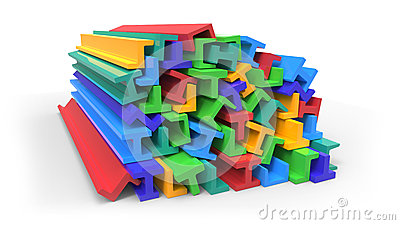 Structural plastic shapes